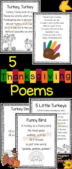 daughters and kindergarten 5 thanksgiving poems for