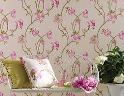 Wallpaper With Birds Floral Wallpaper Designer Flowered Flower U0026 Bird Print Wallpapers
