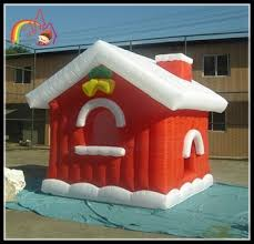 Decoration Christmas House Games by Christmas Inflatable House Christmas Santa House Decoration