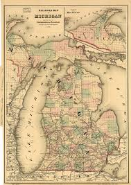 Illinois Railroad Map by History Of Railroads In Michigan Wikipedia