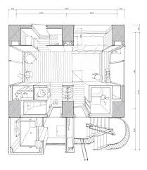 Quonset Hut House Floor Plans Hiroyuki Ito Tatsumi Apartment House Tokyo 16 A
