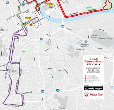 New York City Marathon Map by St Jude Rock U0027n U0027 Roll Nashville Marathon Announces Changes To