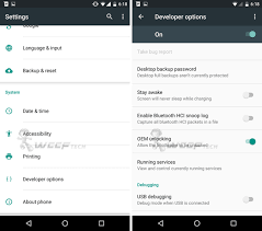 android developer options enable developer options in android 6 0 marshmallow how to