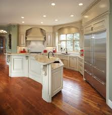 giallo rio granite kitchen traditional with red accent nickel