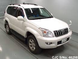 used toyota land cruiser 2008 2008 toyota land cruiser prado pearl for sale stock no 46298