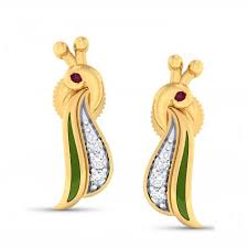 diamond earrings india buy diamond earrings online asmi gili nakshatra nirvana