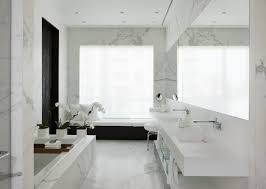 Carrara Marble Bathroom Designs Photos Hgtv Traditional All White Bathroom With Marble Tile Loversiq