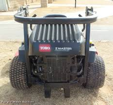 toro z master ztr lawn mower item da7508 sold february