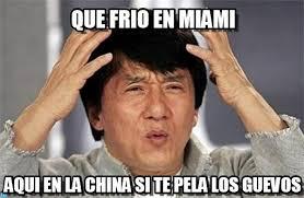 Miami Memes - que frio en miami jacky meme on memegen