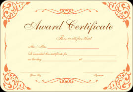 new pdf award certificate template