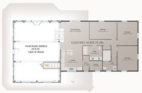 home addition plans one room home addition plans waterview great room addition post