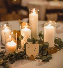 Centerpieces For Tables Dining Room Captivating Wedding Decoration Candles Decorative In