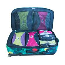Pro packing cubes 4 piece lightweight travel packing cubes set
