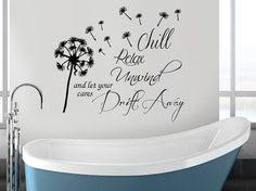 bathroom wall sticker quote wall art happiness is a nice long