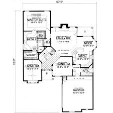 European Home Floor Plans by European Style House Plan 4 Beds 2 50 Baths 2500 Sq Ft Plan 40 364