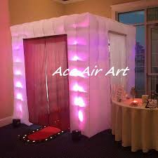 Photo Booth Frames Wholesale Cube Led Inflatable Photo Booth Frames For Wedding Party