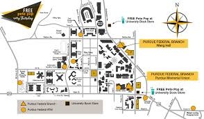 purdue map free pete pop every thursday at book store purdue