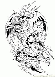 challenging dragon coloring grown ups coloring dragons
