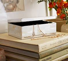 pearl necklace boxes images Mother of pearl jewelry box pottery barn jpg