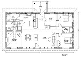 awesome and beautiful rectangular house plans 2 nice floor on with