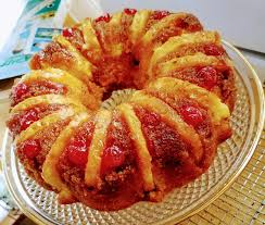 norm u0027s site pineapple upsidedown cake in a bunt pan