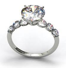 pretty engagement rings sidestone engagement rings engagement ring wall