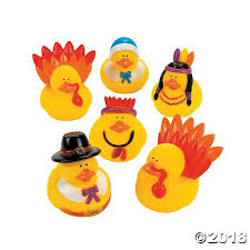 thanksgiving toys rubber duckies