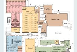 Drug Rehabilitation Center Floor Plan The Santa Barbara Rescue Mission Rebuilding Broken Lives