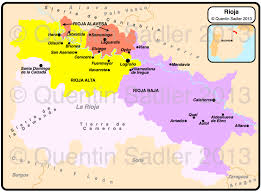 Map Of France Wine Regions by Spain Wine Map Quentin Sadler U0027s Wine Page