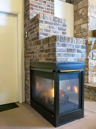 stone u0026 brick with peninsula fireplaces hearth and home