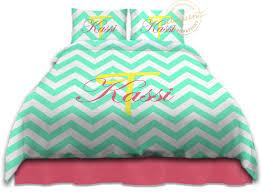 Turquoise Chevron Duvet Cover College Dorm Bedding Sets Twin Xl Duvet Cover Chevron