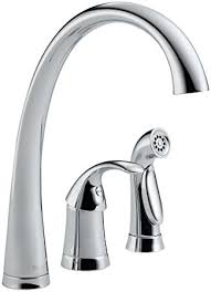 delta bellini kitchen faucet delta faucet 4380 dst pilar single handle kitchen faucet with