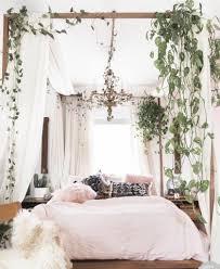 pale pink bohemian bedroom design home decor pinterest