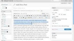 tutorial wordpress com pdf basic concepts in text editor wordpress tutorial travel