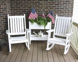 Outdoor Plastic Chairs Poly Lumber Outdoor Furniture Recycled Plastic Furniture