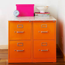 painting a file cabinet diy storage for every room spray painting metals and storage ideas