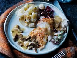 modern twist on thanksgiving menu cooking light
