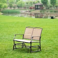 Chair In Garden Aliexpress Com Buy Naturefun Patio Swing Glider Bench Chair