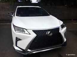 lexus jim white the 2016 lexus rx 350 f sport first drive u2022 geardiary