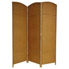 handmade wood handmade wood fiber weave 6 foot room divider china