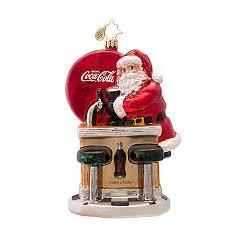 christopher radko ornaments radko ornament santas coke