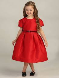 ribbon brooch red christmas dress