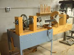 Wood Lathe Projects For Free by Homebuilt Wood Lathe