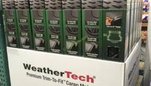 weathertech black friday deal weathertech all vehicle mat 4 pc black u2013 costcochaser
