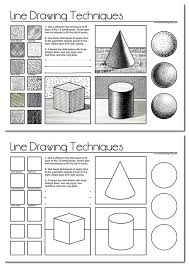 line drawing a guide for art students worksheets drawings and