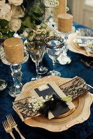 blue and gold decoration ideas blue and gold wedding decoration ideas best vintage wedding theme
