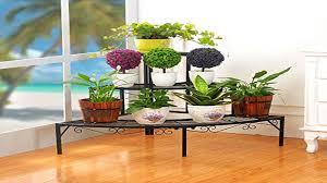 creative living room flower pot rack iron ideas youtube