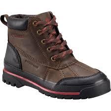 columbia wrangle peak waterproof boot kids cordovan 6 0 sports