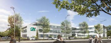 siege du credit lyonnais crédit agricole immobilier and the ga lay the cornerstone of