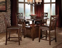 round dining room table with leaf diningoom delightful decoration largeound table neat design set